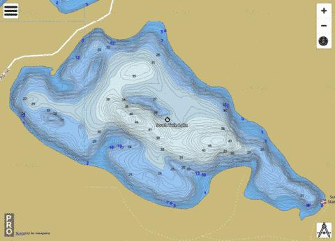 South Twin Fishing Map - i-Boating App