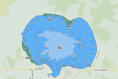 Park Fishing Map - i-Boating App