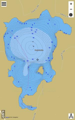 Paquet Fishing Map - i-Boating App