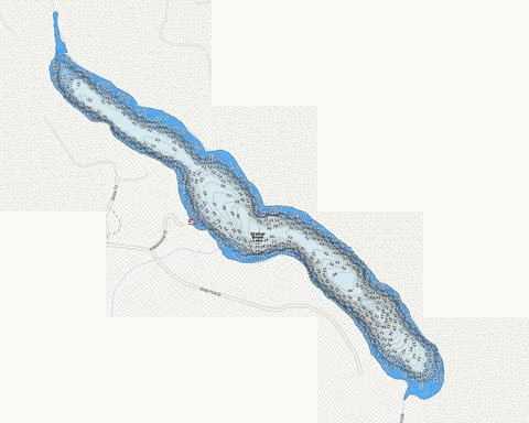 Walker Brook Fishing Map - i-Boating App