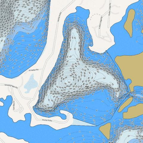 Hen Fishing Map - i-Boating App