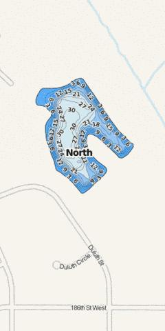 North Fishing Map - i-Boating App