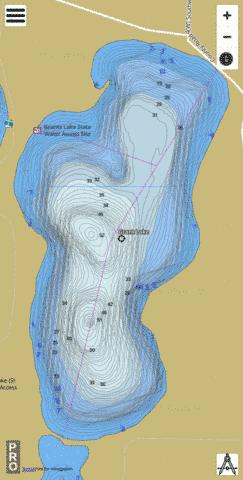 Grants Fishing Map - i-Boating App