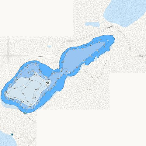 Mow Fishing Map - i-Boating App
