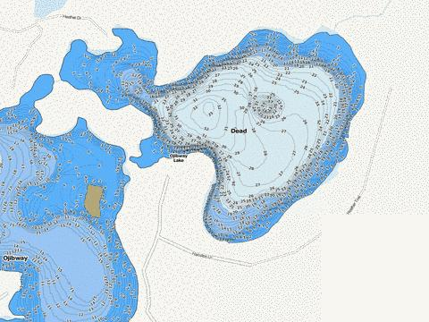 Dead Fishing Map - i-Boating App