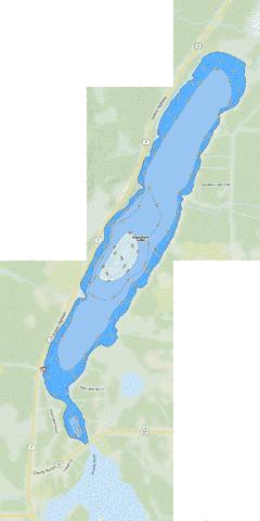 Lawrence Fishing Map - i-Boating App