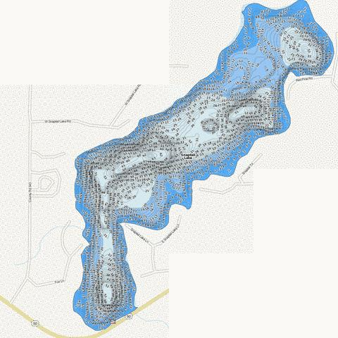 Snaptail Fishing Map - i-Boating App