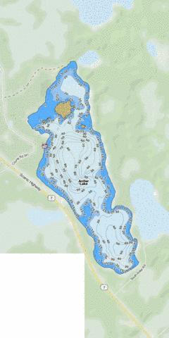 Antler Fishing Map - i-Boating App