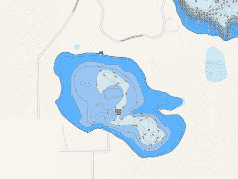 Dead Horse Fishing Map - i-Boating App