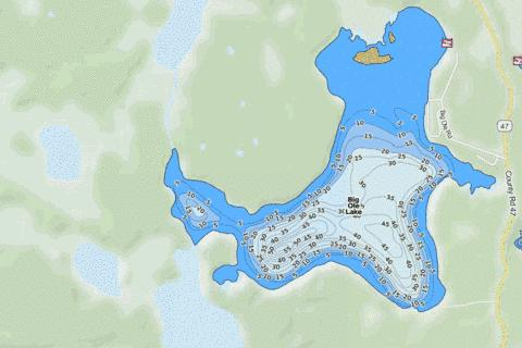 Big Ole Fishing Map - i-Boating App