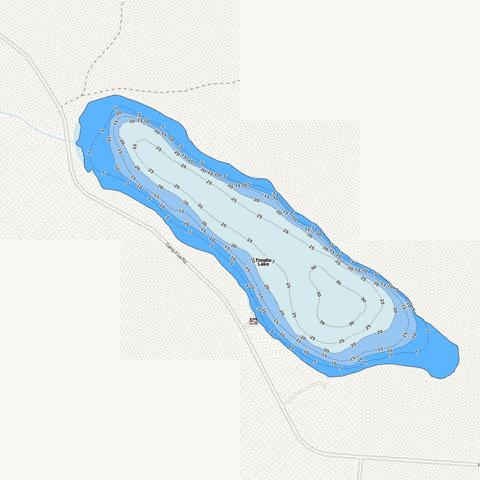 Trestle Fishing Map - i-Boating App