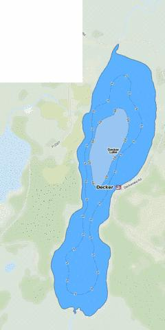 Decker Fishing Map - i-Boating App