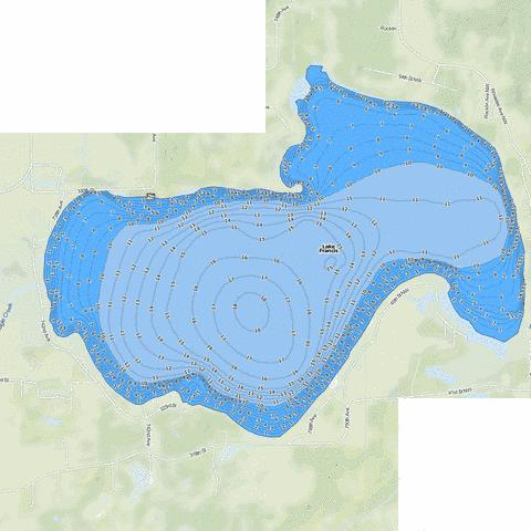 Francis Fishing Map - i-Boating App
