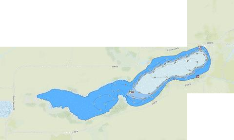 Grove Fishing Map - i-Boating App