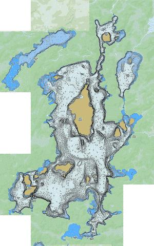 Trout Fishing Map - i-Boating App