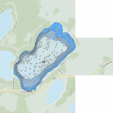 Leora Fishing Map - i-Boating App