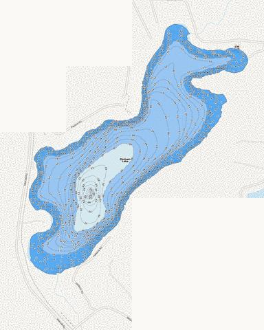 Dinham Fishing Map - i-Boating App