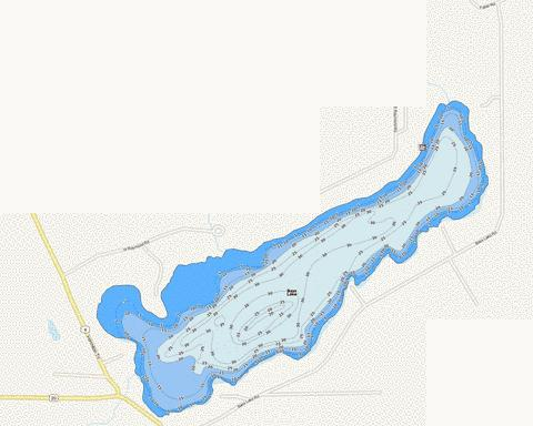 Bass Fishing Map - i-Boating App