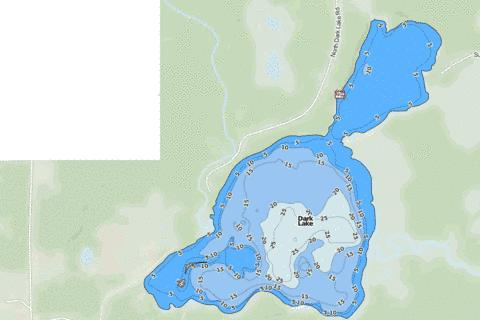 Dark Fishing Map - i-Boating App