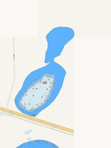 Camp Fishing Map - i-Boating App