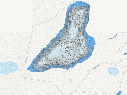 Otter Fishing Map - i-Boating App