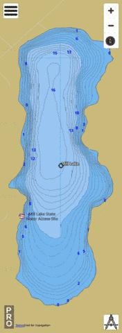 Mill Fishing Map - i-Boating App