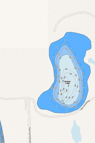 Ember Fishing Map - i-Boating App