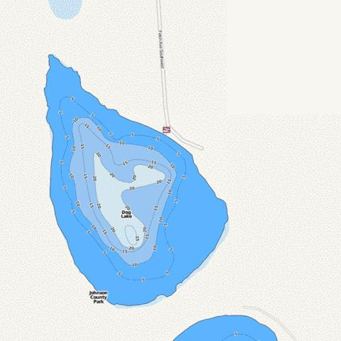 Dog Fishing Map - i-Boating App