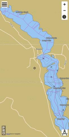 Osoyoos Lake/Osoyoos Lake Fishing Map - i-Boating App