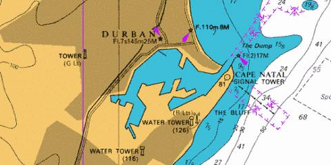 Durban Harbour Marine Chart - Nautical Charts App