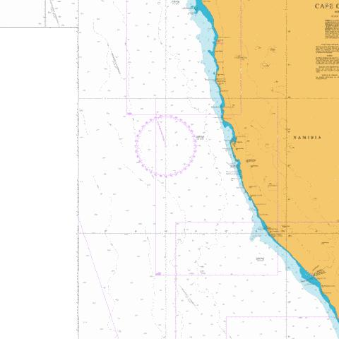 Hottentot Point to Chamais Bay Marine Chart - Nautical Charts App