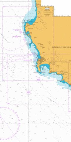 Cape Deseada to Table Bay Marine Chart - Nautical Charts App