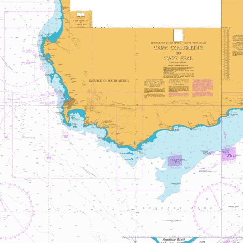 Table Bay to Cape Agulhas Marine Chart - Nautical Charts App
