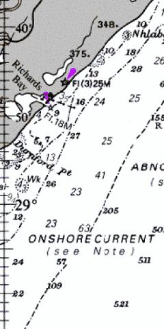 Approaches to Richards Bay Marine Chart - Nautical Charts App